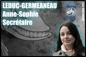 BUREAU-LEDUC-GERMANEAU Anne-Sophie