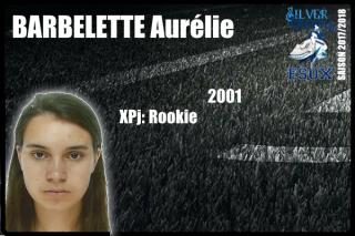 CHEER-BARBELETTE Aurélie