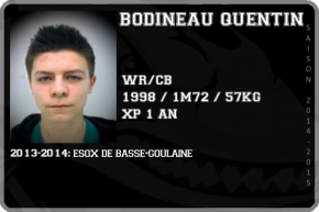 FOOT US-BODINEAU Quentin