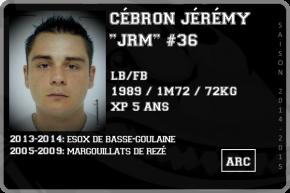 FOOT US-CEBRON Jérémy