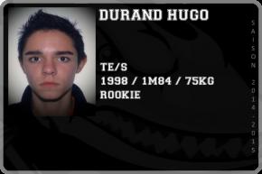 FOOT US-DURAND Hugo