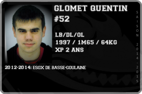 FOOT US-GLOMET Quentin