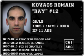 FOOT US-KOVACS Romain