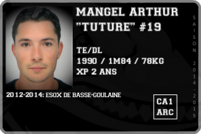 FOOT US-MANGEL Arthur