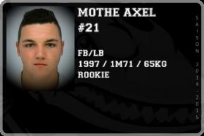 FOOT US-MOTHE Axel