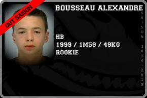 FOOT US-ROUSSEAU Alexandre