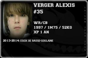 FOOT US-VERGER Alexis