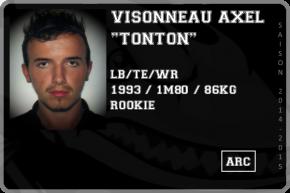FOOT US-VISONNEAU Axel