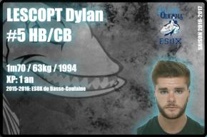 FOOTUS-SR-LESCOPT Dylan