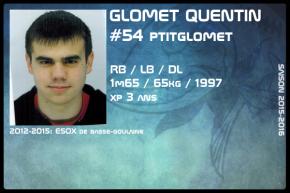 FOOT US-JR-GLOMET Quentin