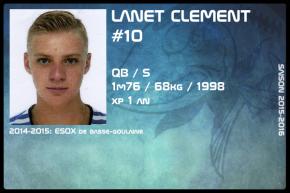 FOOT US-JR-LANET Clement