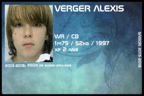 FOOT US-JR-VERGER Alexis