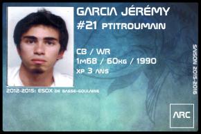 FOOT US-SR-GARCIA Jérémy
