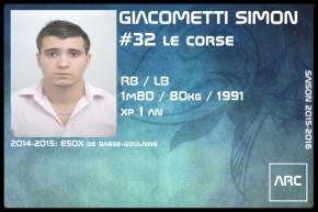 FOOT US-SR-GIACOMETTI Simon