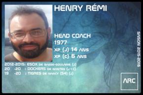 FOOT US-SR-HENRY Rémi