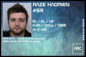 FOOT US-SR-RAZE Hadrien