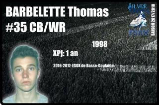 FOOTUS-SR-BARBELETTE Thomas