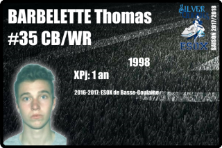 FOOTUS-SR-BARBELETTE Thomas