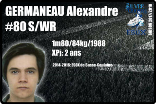 FOOTUS-SR-GERMANEAU Alexandre